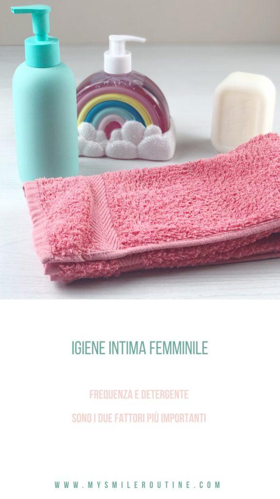 l'igiene intima femminile è importante