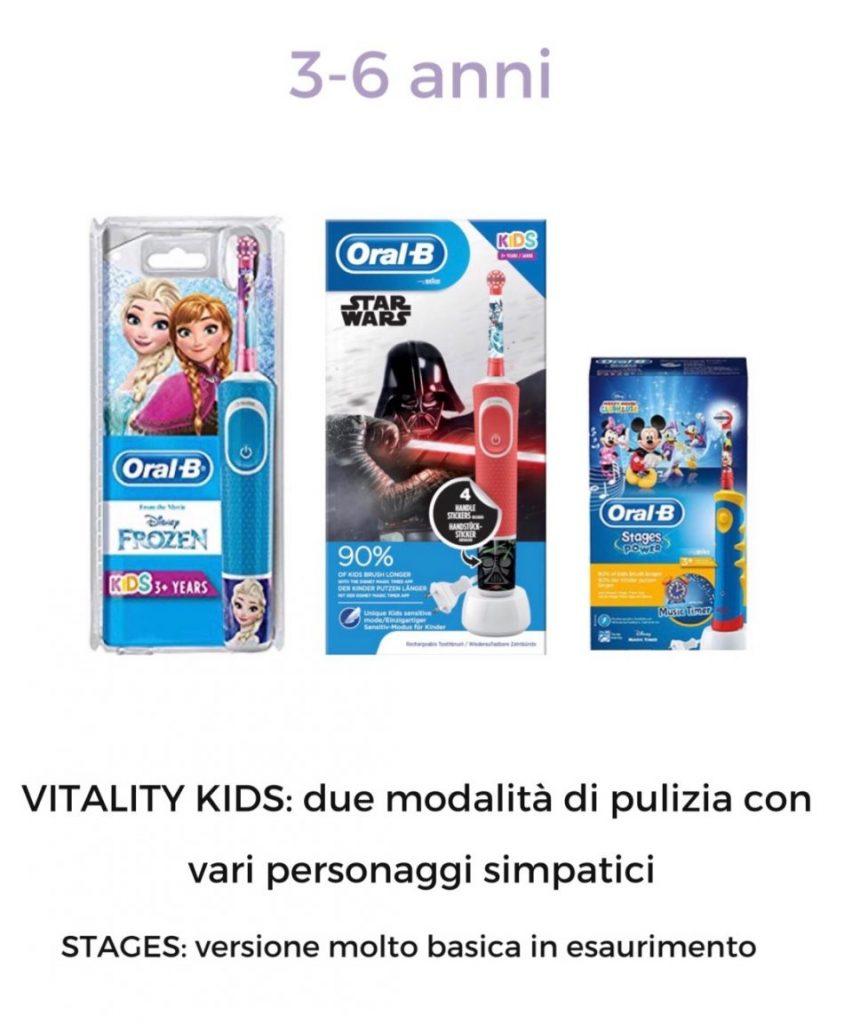oralb per bambini